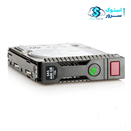 هارد استوک HP 600GB 15k SAS (3.5″)